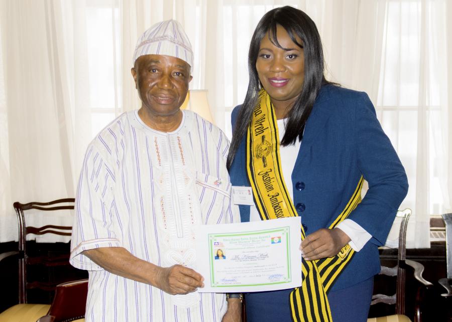 LIBERIA'S FASHION AMBASSADOR